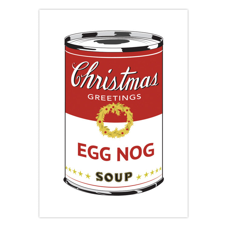 Egg Nog Soup Can