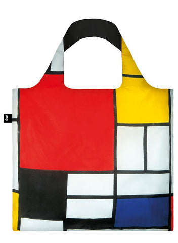 "Piet Mondrian's ""Composition, 1921"" Painting Tote Bag"