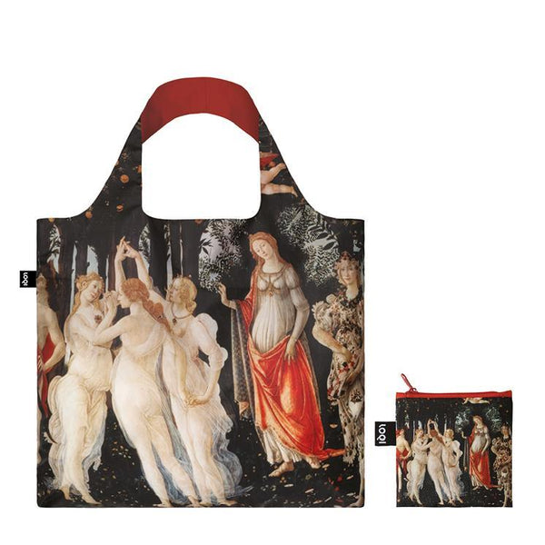 "Sandro Botticelli ""Primavera"" Tote Bag and zip pouch"