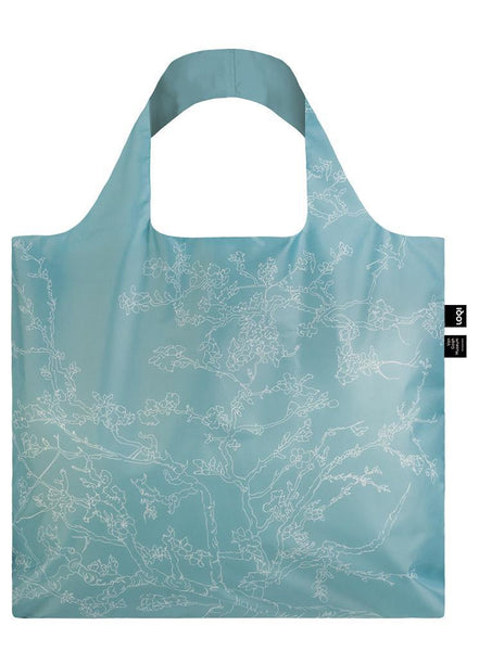 "Vincent van Gogh ""Almond Blossom"" Tote Bag, reversed"