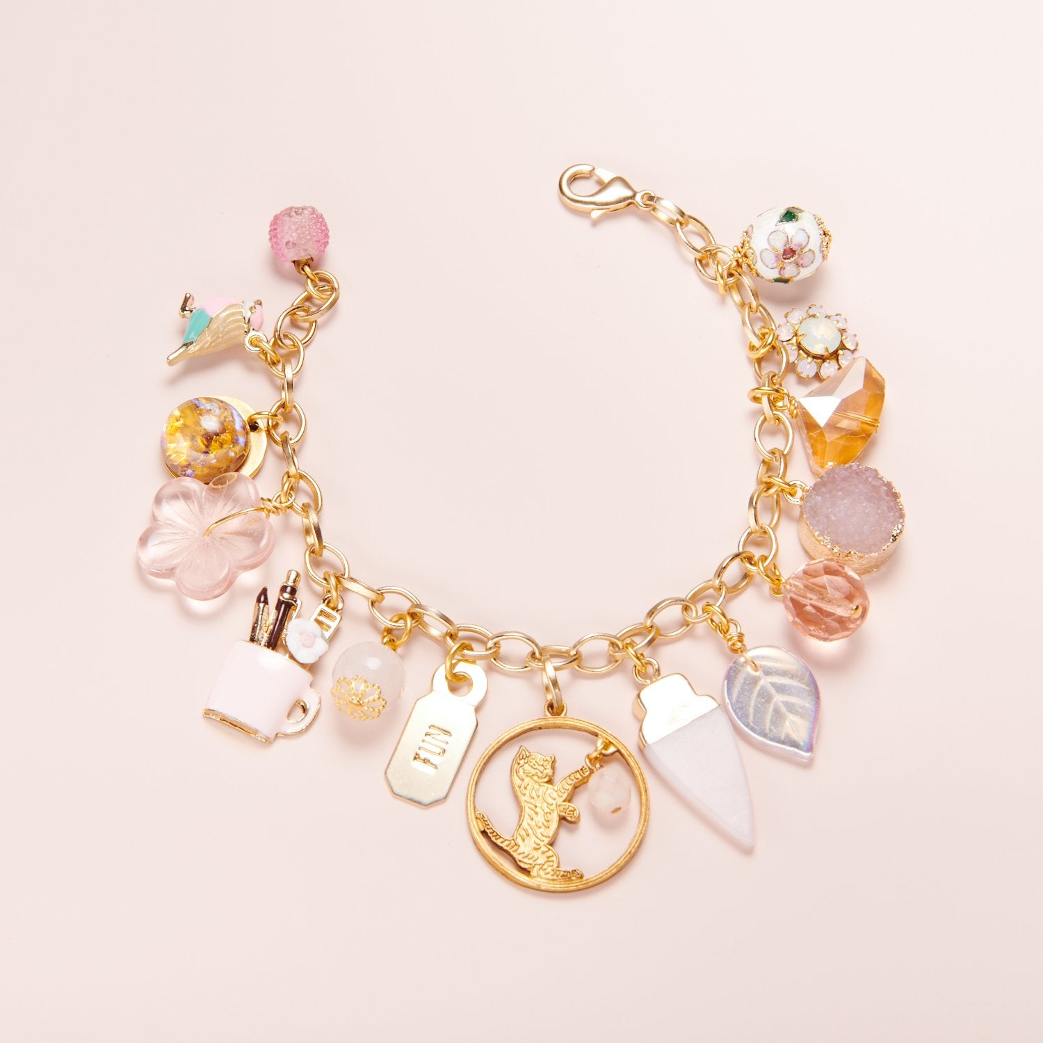 "Limited Edition ""Girlie Girl"" Charm Bracelet"