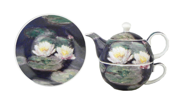 "Claude Monet ""Water Lilies"" Tea-for-One"