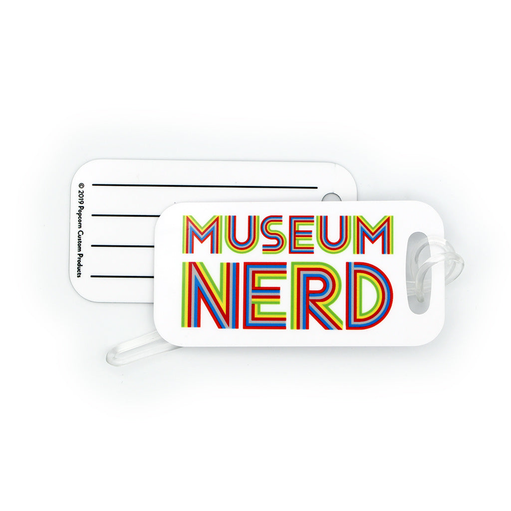 Museum Nerd Luggage Tag