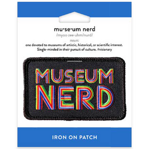Museum Nerd Iron-On Patch