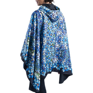 "Tiffany ""Clematis"" Rain Cape"