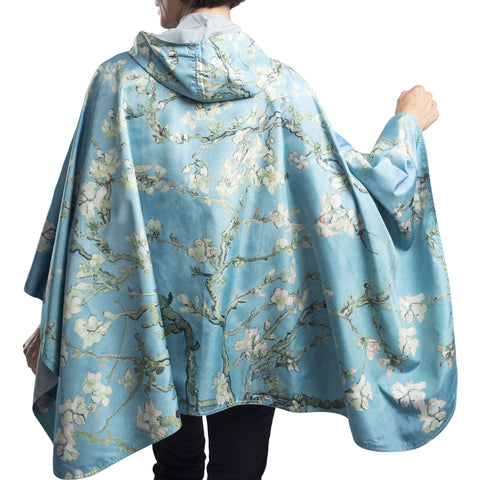 "Van Gogh ""Almond Blossoms"" Rain Cape"