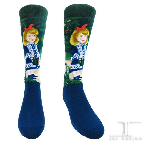 "Renoir ""A Girl With A Watering Can"" Socks"