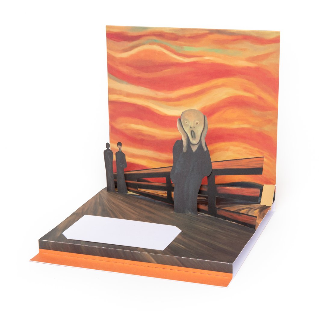 "Edvard Munch ""The Scream"" Pop-Up Greeting Card"