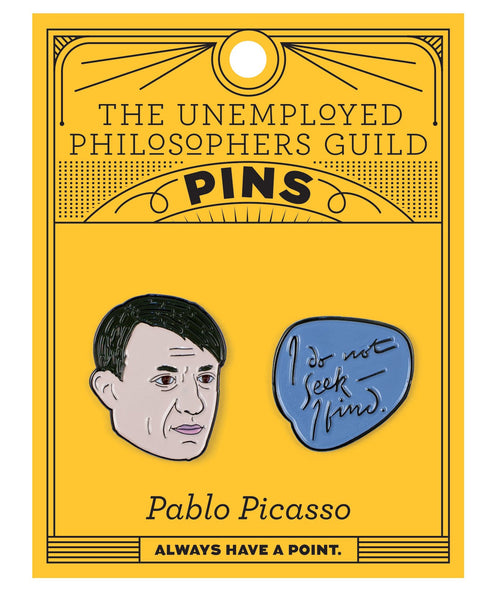 Pablo Picasso Enamel Pins Set Package