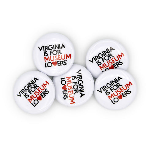 Museum Lovers Buttons
