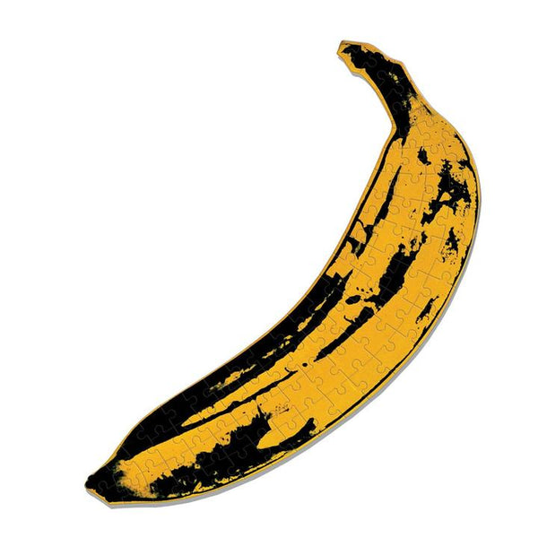 "Andy Warhol Mini Shaped Jigsaw Puzzle ""Banana"""