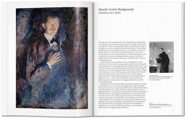 Munch, by Ulrich Bischoff, pages 6-7