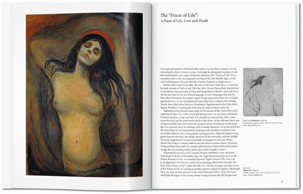 Munch, by Ulrich Bischoff, pages 31-32