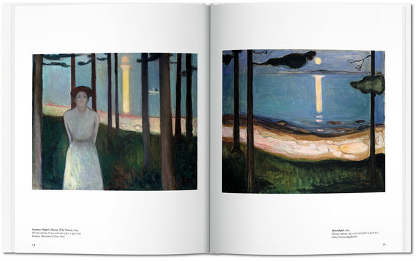 Munch, by Ulrich Bischoff, pages 34-35