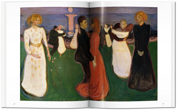 Munch, by Ulrich Bischoff, pages 46-47