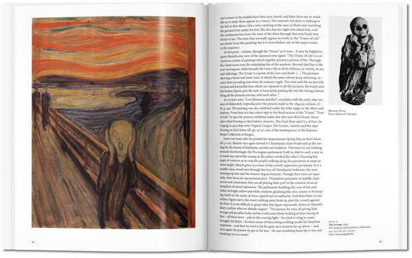 Munch, by Ulrich Bischoff, pages 52-53