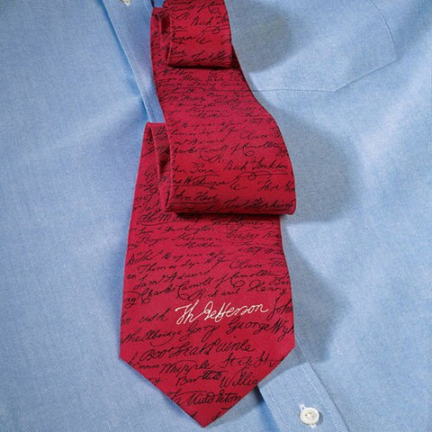Signers of the Declaration Necktie