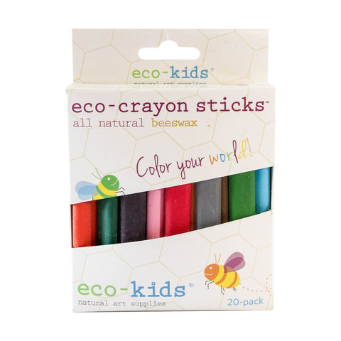 Eco-Crayon Sticks 20 Colors