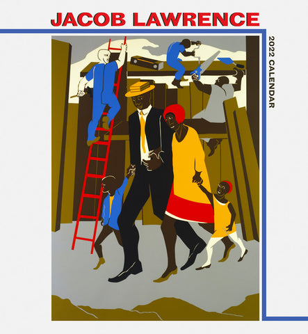Pre-order: Jacob Lawrence 2022 Wall Calendar