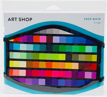 Color Bars Face Mask