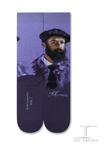 Claude Monet Socks