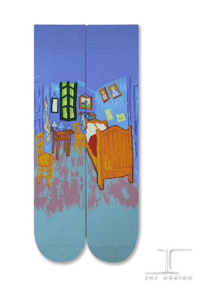 "van Gogh ""Bedroom in Arles"" Socks"
