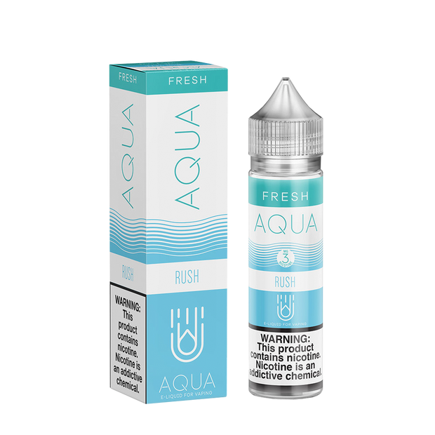 AQUA Fresh RUSH Blue Razz 60ml - ԷՆԴՍ