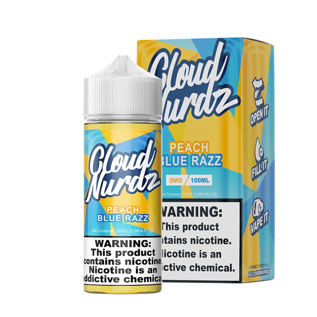 Cloud Nurdz Peach Blue Razz 100ml - ԷՆԴՍ