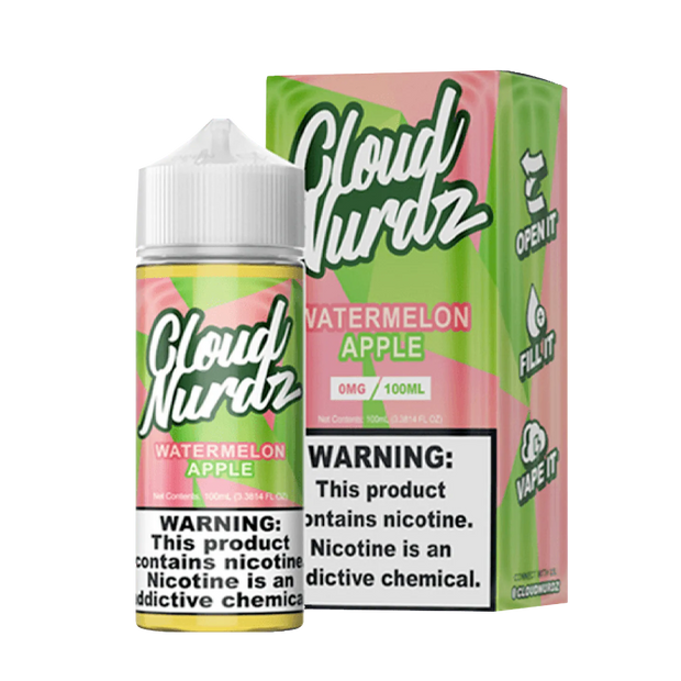 Cloud Nurdz Watermelon Apple 100ml - ԷՆԴՍ