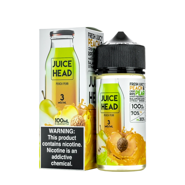 Juice Head Peach Pear 100ml - ԷՆԴՍ