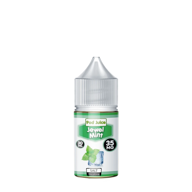 Pod Juice Jewel Mint Cool Nicotine Salt 30ml - ԷՆԴՍ