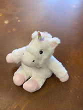 Load image into Gallery viewer, Warmies Unicorn -White