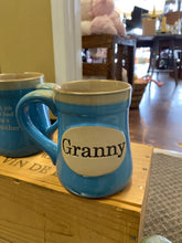 Load image into Gallery viewer, Granny blue mug