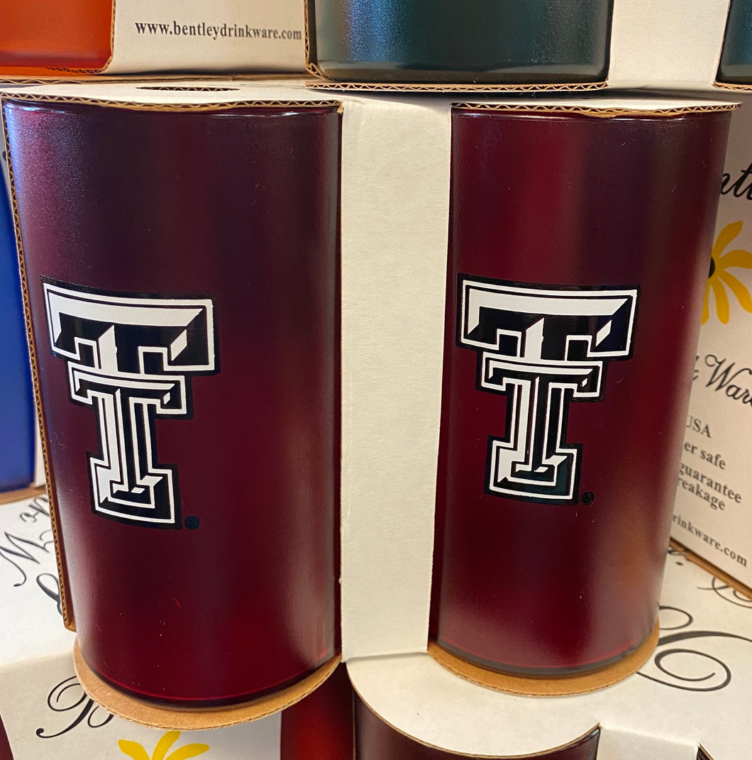 Texas Tech 20oz tumblers