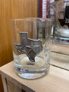 Texas Glass/Pewter