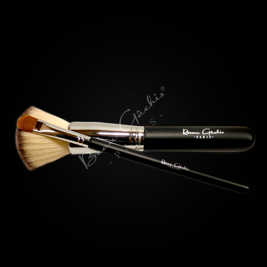 PRESS RELEASE - Beau Gâchis Paris Expands Brush Line with Addition of Concealer and Flat Top Kabuki Brushes