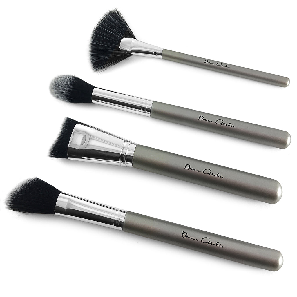 Beau Gâchis Highlight and Contour Makeup Brush Set - Beau Gâchis® Paris