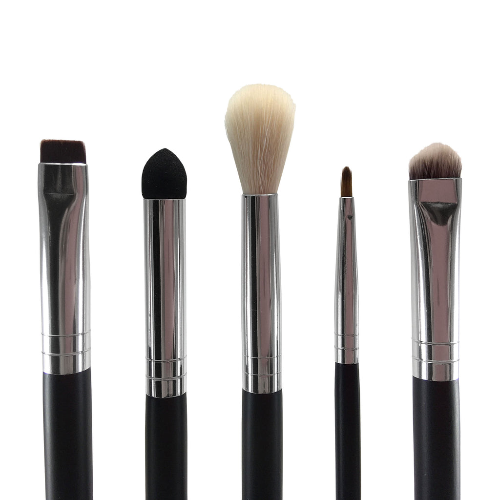 Beau Gâchis 5 Piece Eye Essentials Brush Set - Beau Gâchis® Paris