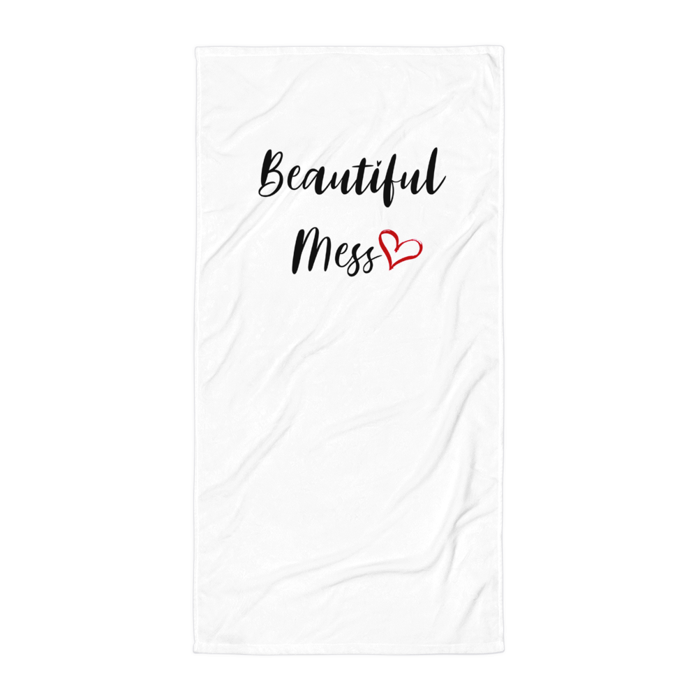 Beautiful Mess Beach Towel