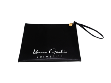 Satin Cosmetic Bag with Strap - Beau Gâchis® Paris