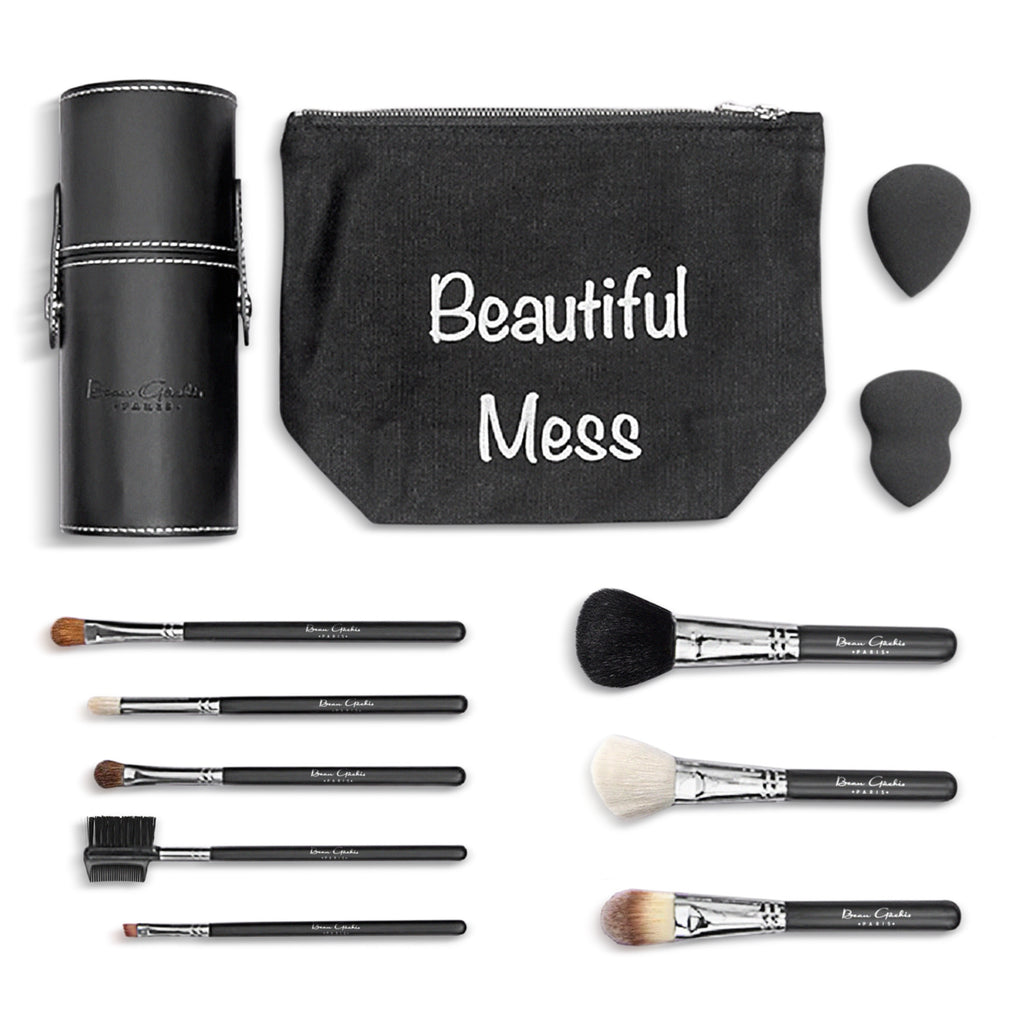 Beau Gâchis Create Your Perfect Makeup Brush Set - Pick any 5 - Beau Gâchis® Paris