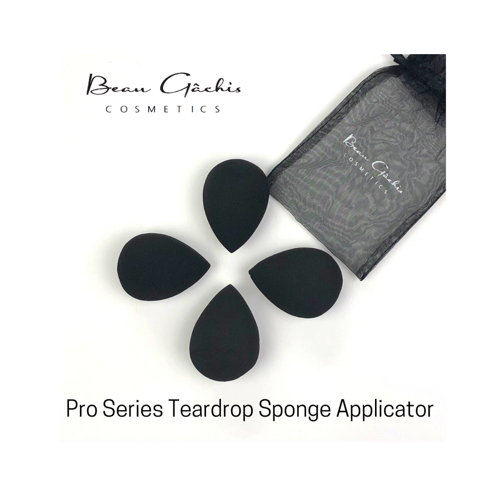 Pro Series Teardrop Applicator Sponge 4 Pack Special