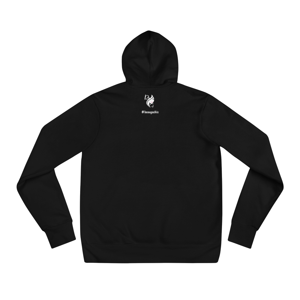 Beautiful Mess Unisex Hoodie - Black - Beau Gâchis® Paris