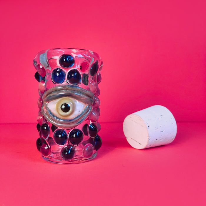 Decorative Eye Jar