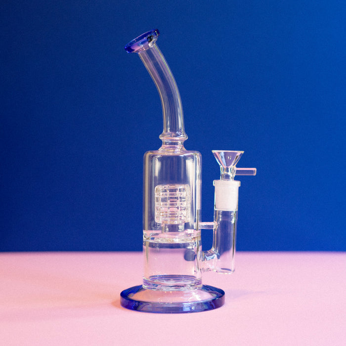 Bent Neck Mini Water Pipe (Multiple Colors)