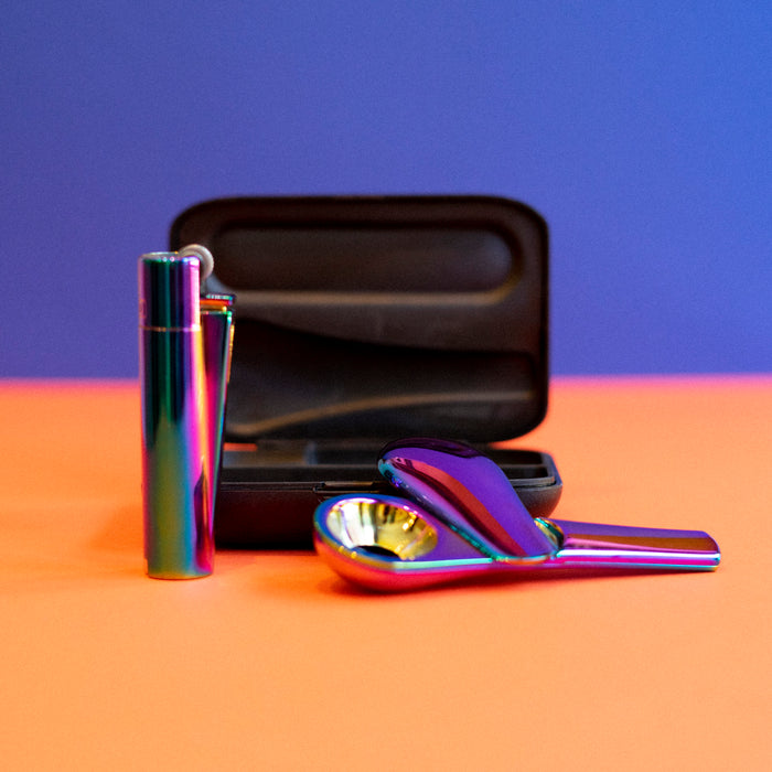 Portable Pipe & Clipper Lighter (Multiple Colors)