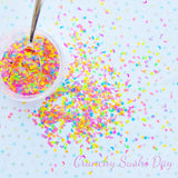 5 grams - 3-4mm Assorted Neon Shape Glitter, Neon, Glitter, Neon Glitter Confetti, Confetti, Kawaii, Resin Glitter, Star and Moon