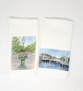 Nantucket Tea Towel Set of 2