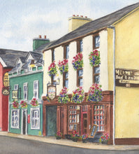 Load image into Gallery viewer, Dingle Ireland Street Painting Dingle Print Watercolor Original Or Giclee Print Irish Art Ireland Painting Irish Gift Ireland Gift - Leigh Barry Watercolors