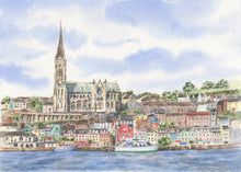 Load image into Gallery viewer, Cobh Ireland Painting Watercolor Original Or Giclee Print, Cobh County Cork Print, Irish Art, Ireland Painting, Irish Gift, Ireland Gift - Leigh Barry Watercolors